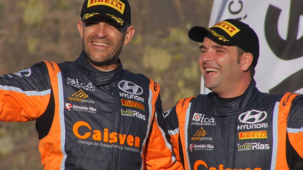 Iván Ares se llevó la victoria final en el Rally Villa de Adeje y el liderato provisional del campeonato