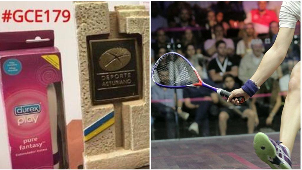 Regalan un vibrador como premio a las ganadoras de un Campeonato de Squash en Asturias