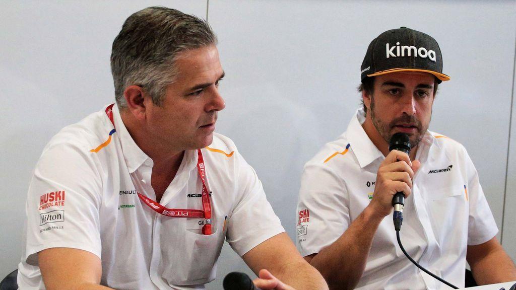 """Gil de Ferran, director deportivo de McLaren, asume el fracaso de Alonso: """"No le dimos un coche lo suficientemente rápido"""""""