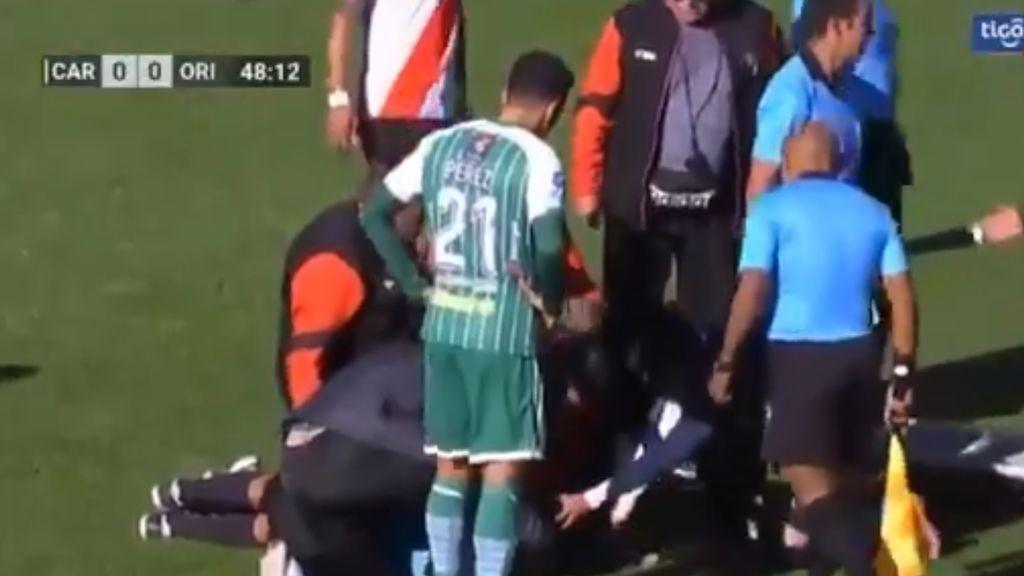 Fallece un árbitro en Bolivia en un partido disputado en el estadio de más altitud del mundo