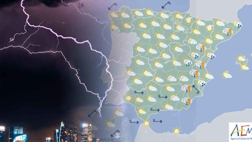 Las tormentas se desplazan al Levante: hasta cuándo durará la inestabilidad