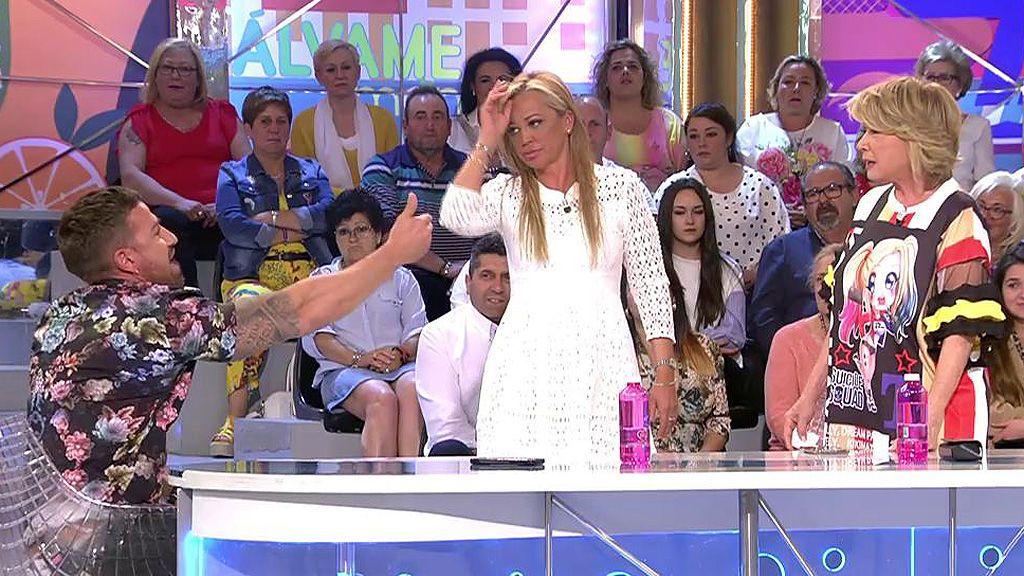 Mila Ximénez brota ante un insulto de Rafa Mora