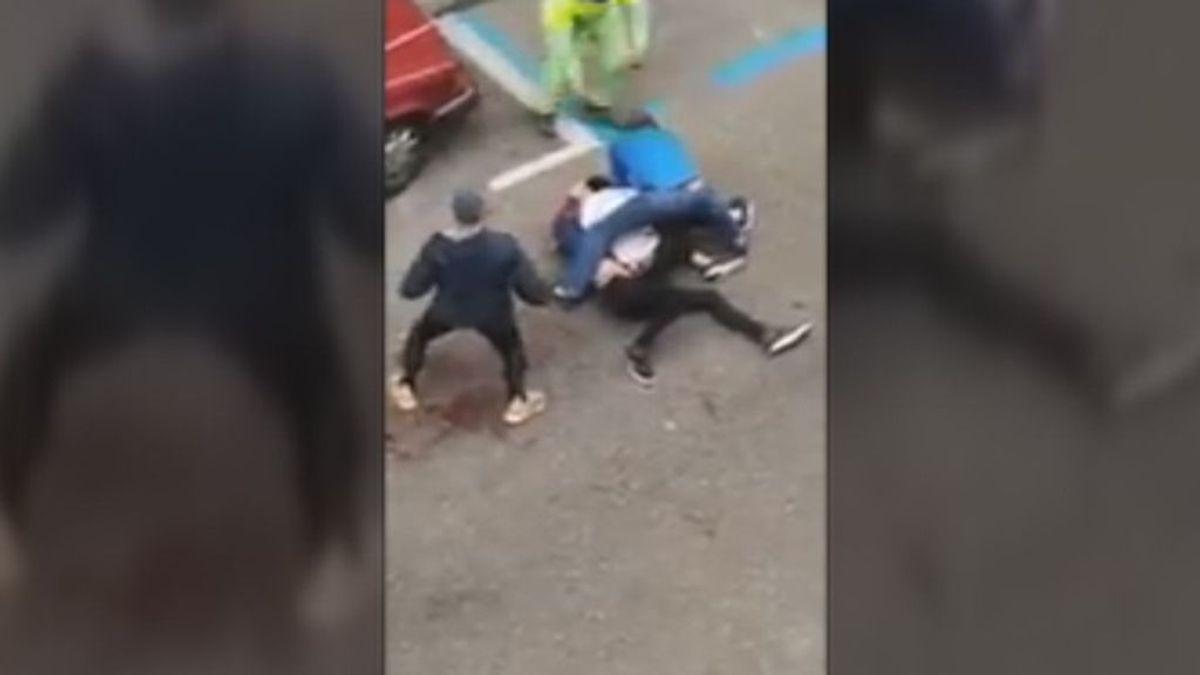 """""""Vi que lo iba a matar y le quité el cuchillo"""": la terrible escena a las puertas de una discoteca en Zaragoza"""