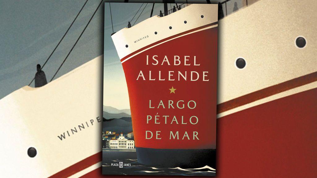 Largo pétalo de mar de Isabel Allende