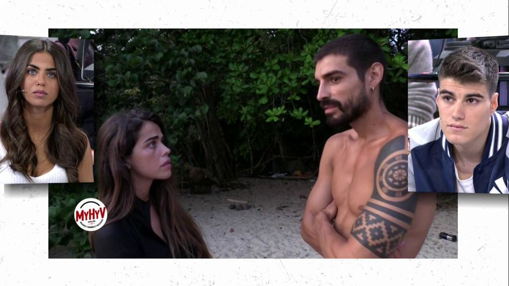 La pelea íntegra de Violeta y Fabio en 'SV'