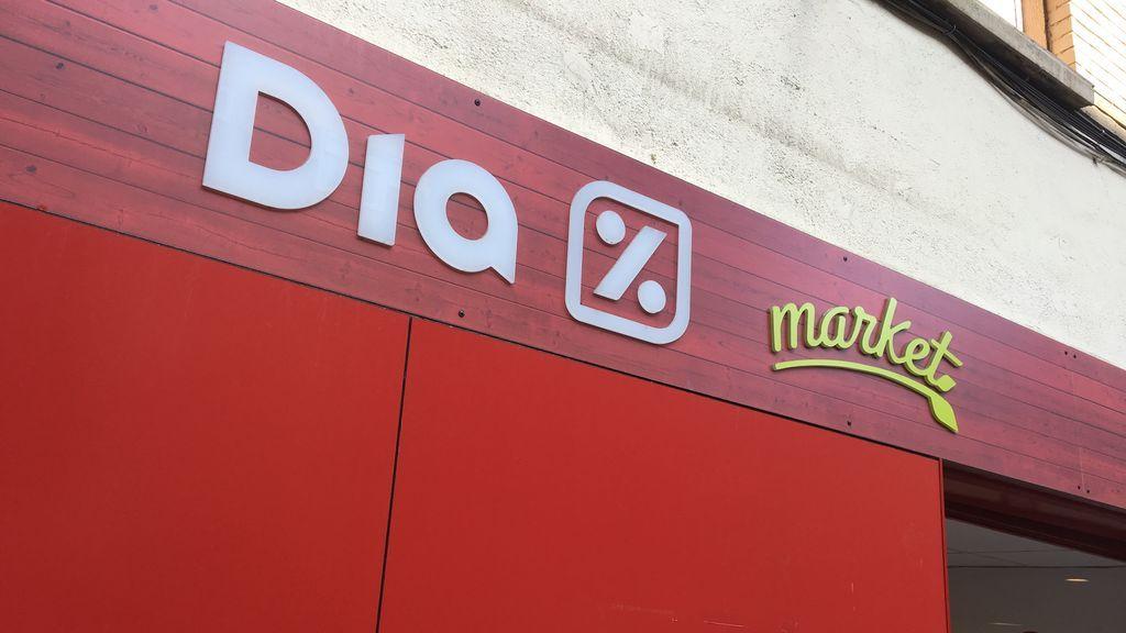 La cadena de supermercados Día se libra de sufrir un concurso de acreedores gracias a Santander
