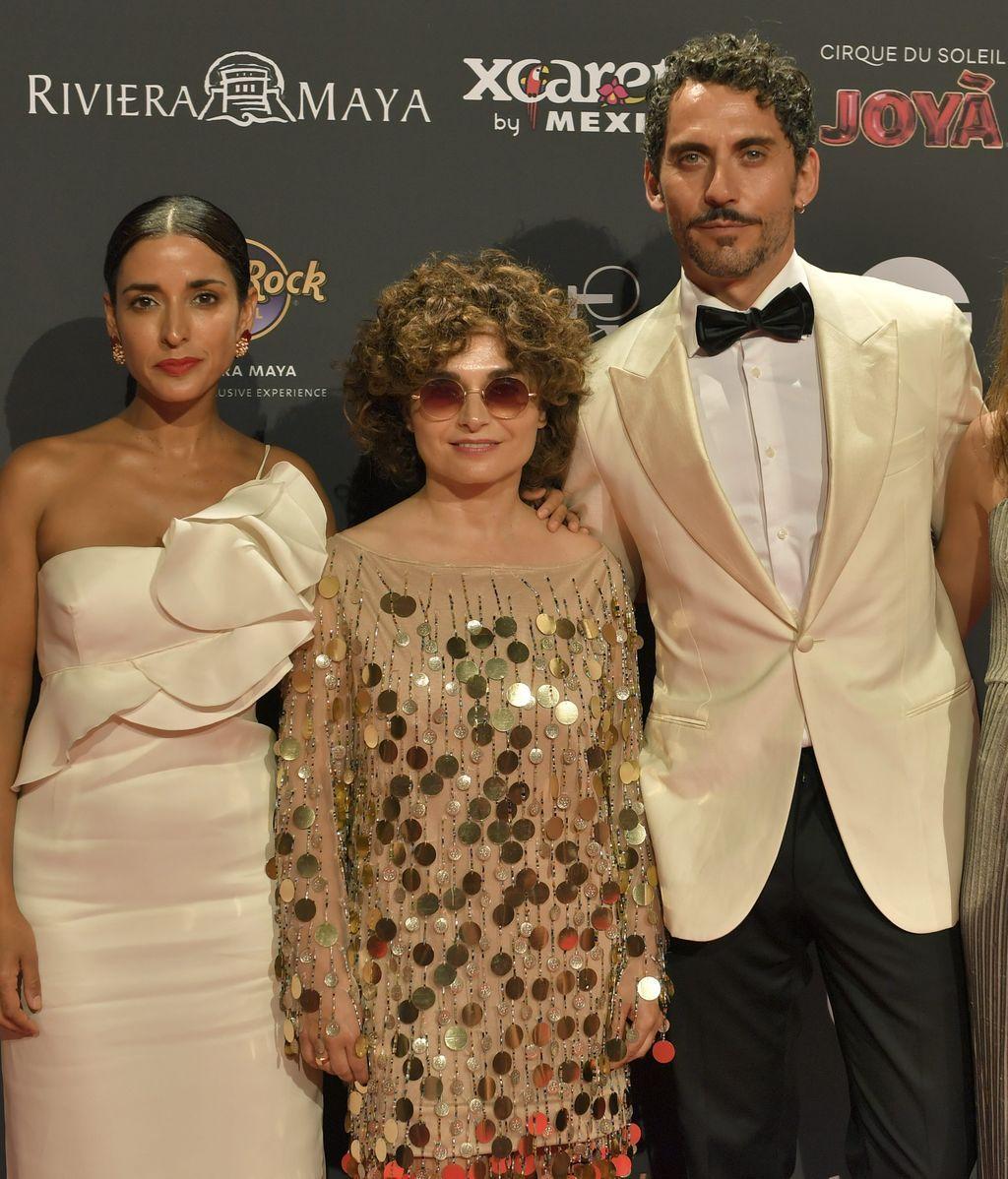 Paco León, Inma Cuesta y Anna R. Costa en los Premios Platino (Foto: Cordon Press)