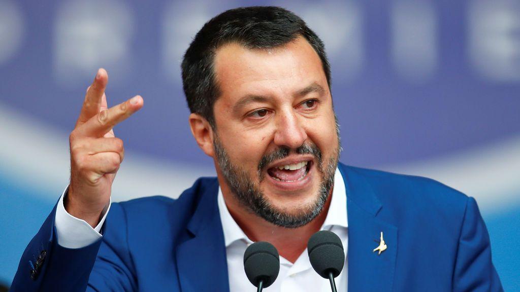 Salvini se burla de una sentencia de Estrasburgo que obliga a dar cobijo a niños gitanos