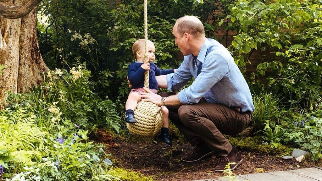 Es uno de los elementos estrellas del jardín, y el Principe Guillermo y el pequeño Louis también lo disfrutan