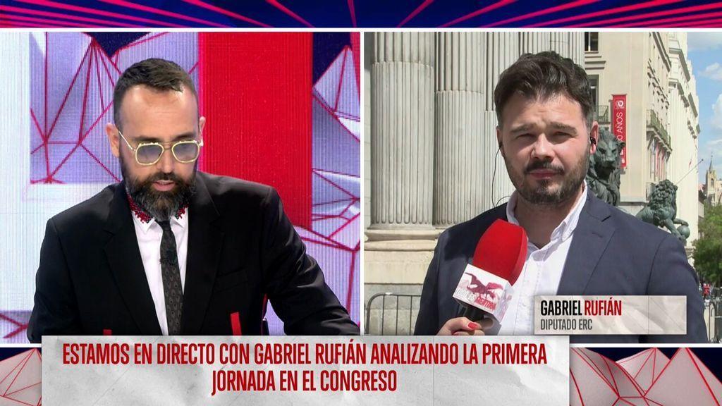 Entrevista de Risto Mejide a Gabriel Rufián
