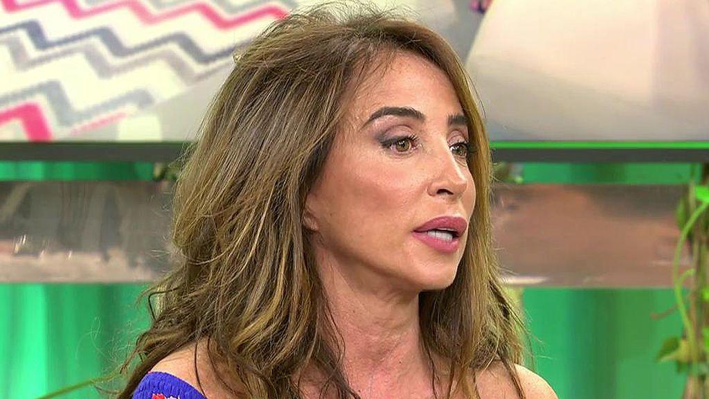 """María Patiño crItica las exigencias de Carmen Borrego: """"Se os caerían los pantalones al suelo"""""""