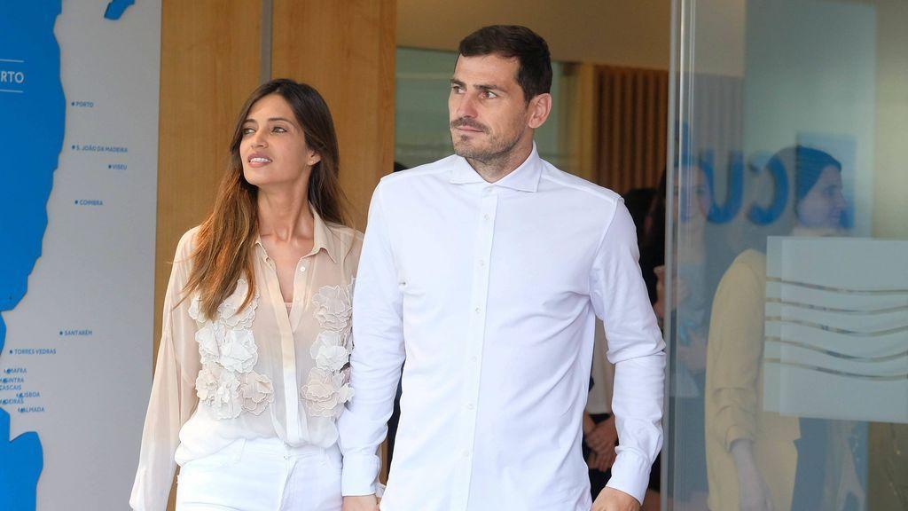 """""""Un mar tranquilo nunca hizo un buen marinero"""", el mensaje de apoyo de Casillas a Sara Carbonero tras ser operada de un tumor en un ovario"""