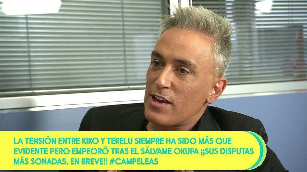 """Kiko Hernández confiesa que tuvo que esperar """"una hora y media"""" para subir a casa de Terelu el día de su cumpleaños"""