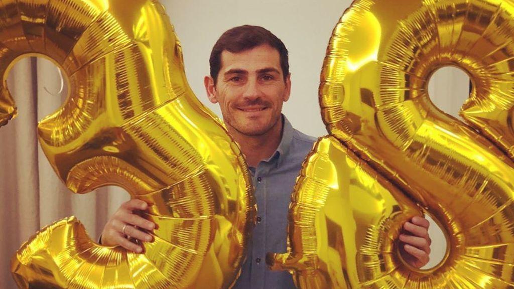 """Iker Casillas y Sara Carbonero celebran unos duros 38 de él: """"No ha sido un gran cumpleaños"""""""