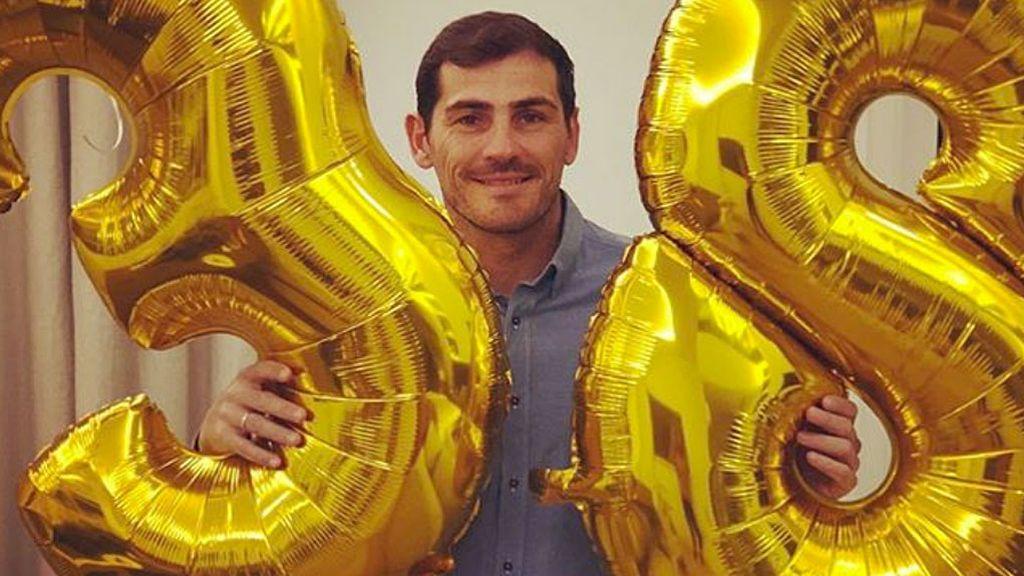 """El emotivo mensaje de Iker Casillas en su cumpleaños: """"Estoy feliz porque desde hace 20 días sigo aquí"""""""