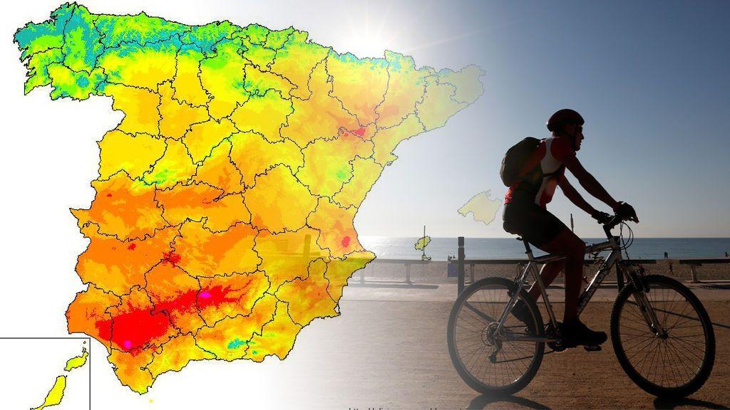 Vuelve el tiempo veraniego: el jueves las máximas llegarán a los 35ºC