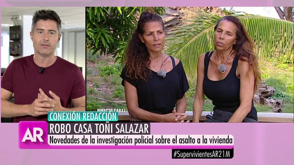 Los objetos y la cantidad que Toñi Salazar ha denunciado por el robo en su casa