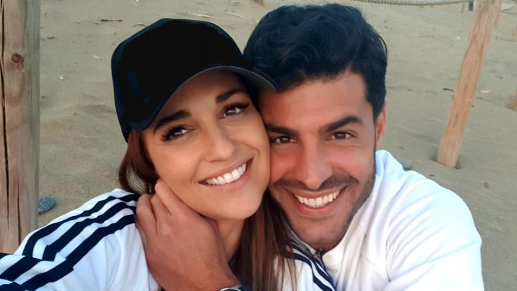 """Paula Echevarría y Miguel Torres posan para su primera sesión de fotos: """"Te quiero para siempre"""""""