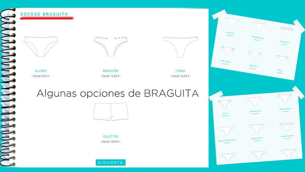 OPCIONES BRAGUITA