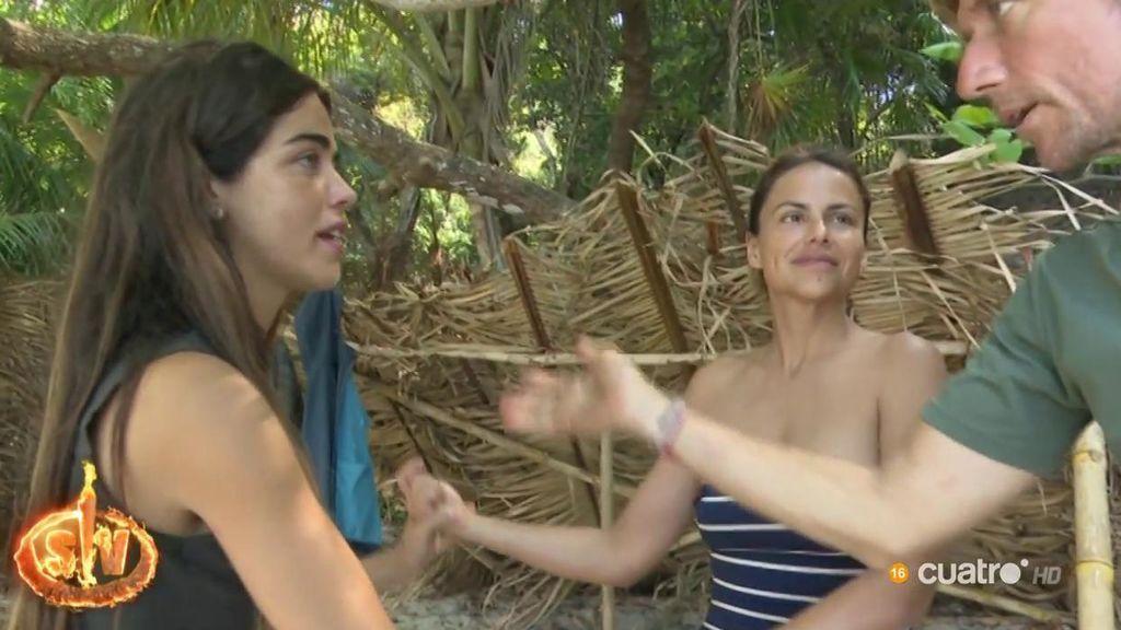 Violeta y Fabio discuten y algunos supervivientes intentan sacar provecho