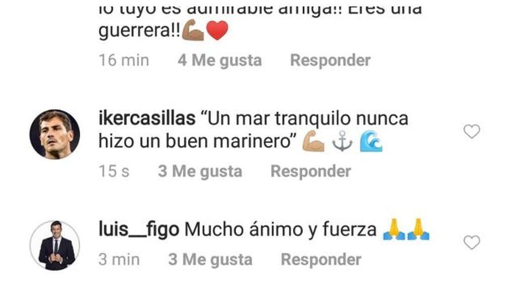 El mensaje de apoyo de Iker Casillas a Sara Carbonero