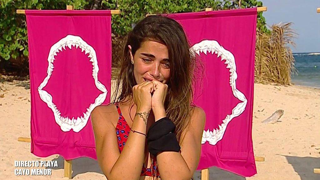 """Violeta pide perdón desolada por su peineta a Jordi: """"En ningún momento iba para el presentador ni para la audiencia, pero estuvo feo"""""""