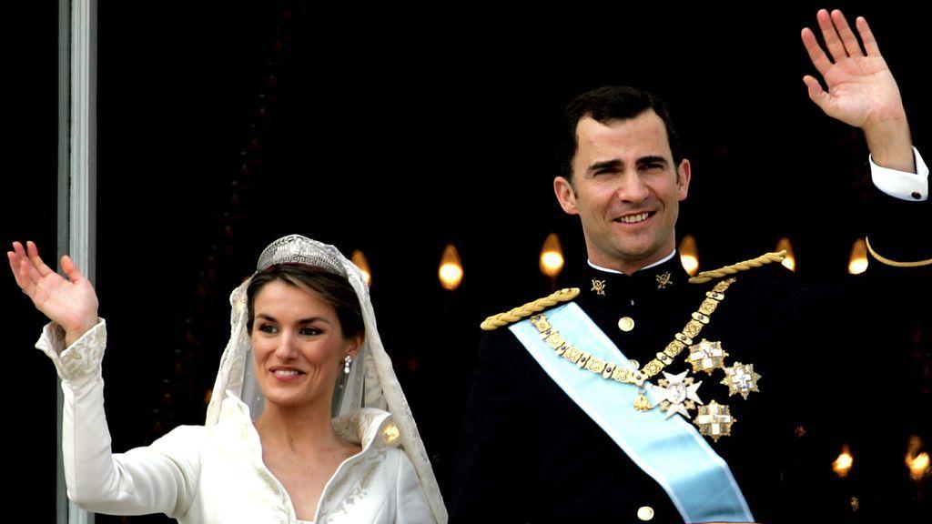 15 años de la boda de Felipe y Letizia en 15 detalles que hicieron historia