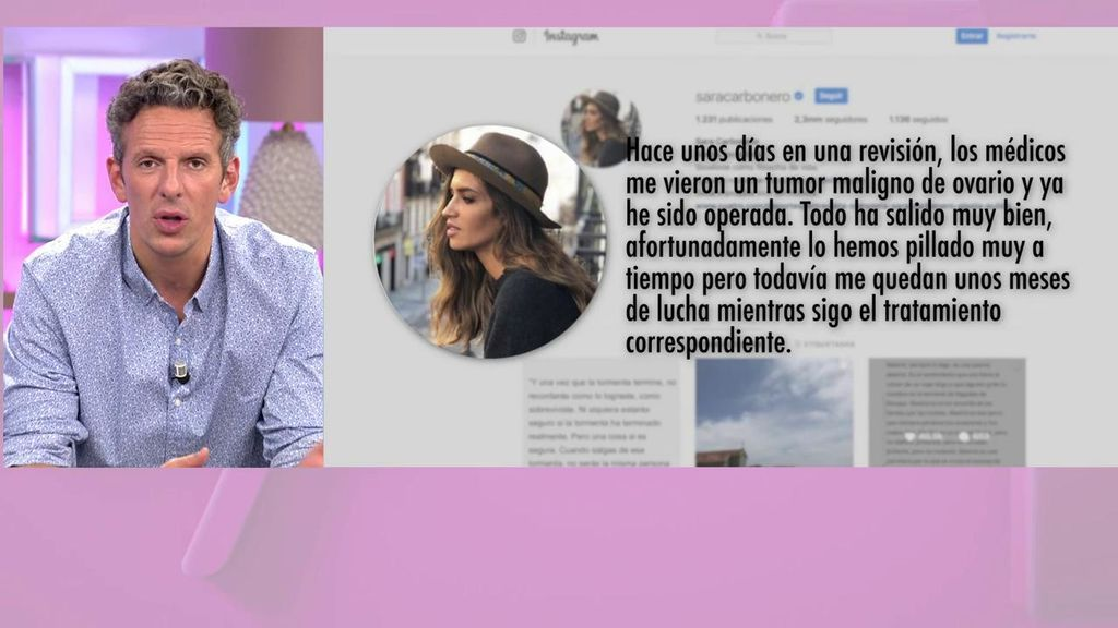 """El cariñoso mensaje de Joaquín Prat a Sara Carbonero: """"Nos alegramos de que las cosas estén mejor"""""""