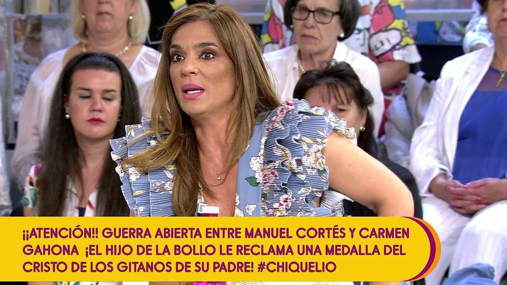 """Raquel Bollo habla sobre la pensión de viudedad de Chiquetete: """"Ni me da ni me quita"""""""