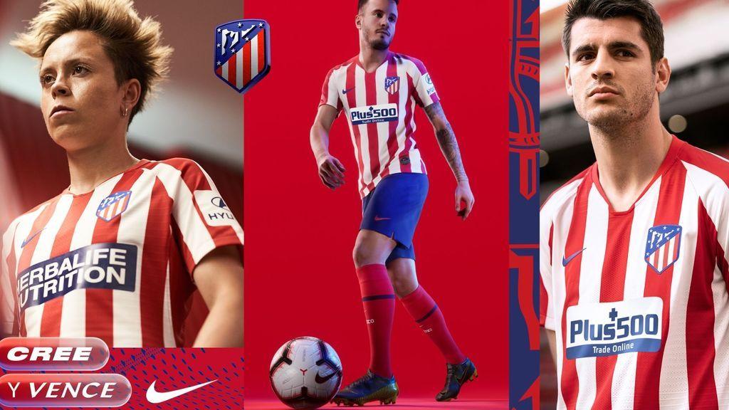 Protagonismo a las rayas rojiblancas recordando la camiseta de 2010: Así será la nueva equipación del Atlético