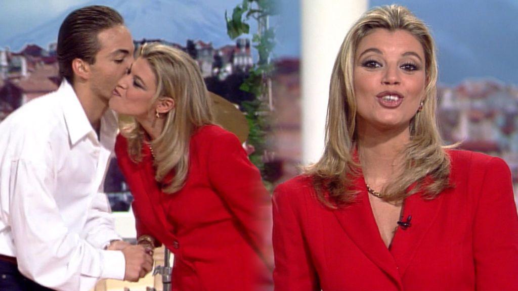 Terelu no siempre sufrió en Telecinco: así enamoró a un famoso cantante hace 23 años