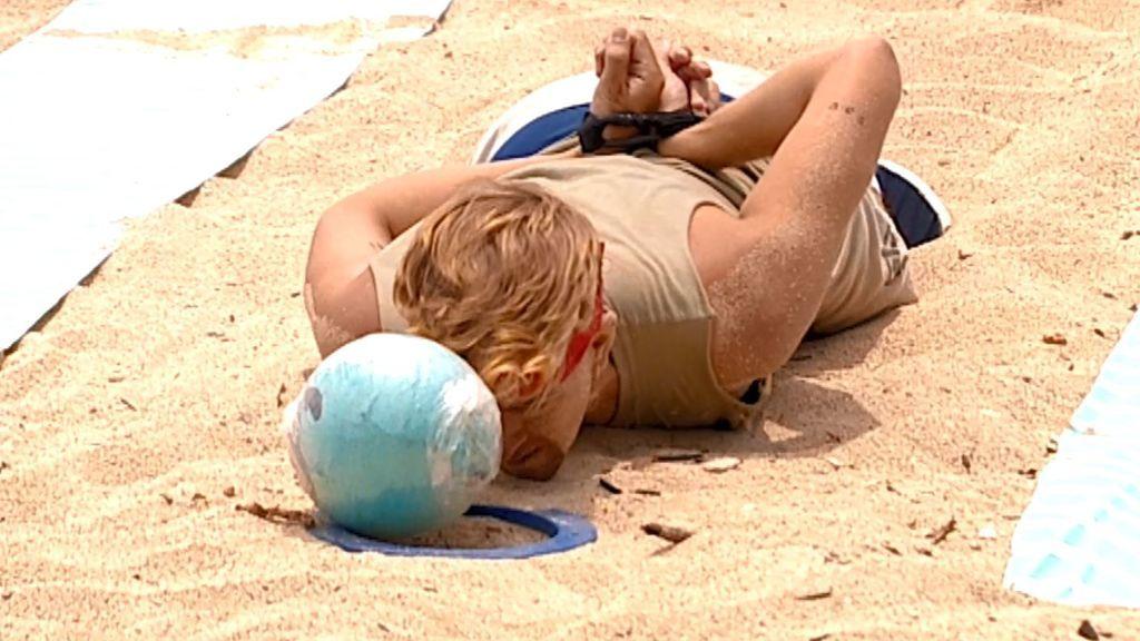 La prueba de arena, en primera persona
