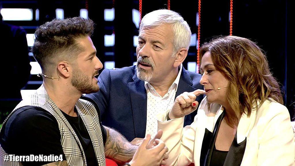 """Sofía Suescun desmiente, indignada, a Hugo Paz en directo tras insinuar que entre ellos pasó algo en 'SV'': """"Deja de mendigar un poquito de tele"""""""