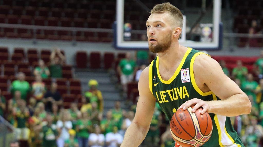 """Domantas Sabonis: """"Simplemente intentaremos competir todos los días y amar este deporte que es el baloncesto"""""""