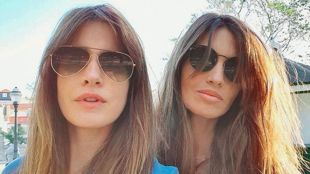 Isabel Jiménez visita a su gran amiga Sara Carbonero en el hospital