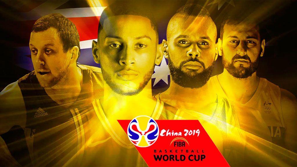 Ocho jugadores NBA en la lista de Australia para la Copa del Mundo FIBA