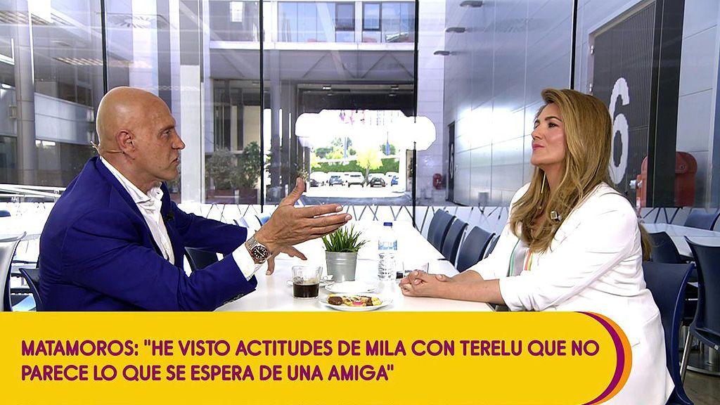"""Kiko Matamoros: """"Carmen Borrego ha humanizado a Las Campos y se han visto sus miserias"""""""