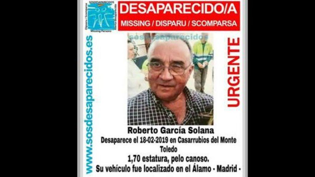 Un detenido por la desaparición de un vecino de Casarrubios del Monte en febrero