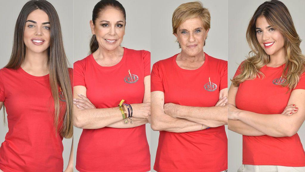 Chelo, Isabel Pantoja, Lidia y Violeta, nominados de 'SV 2019'