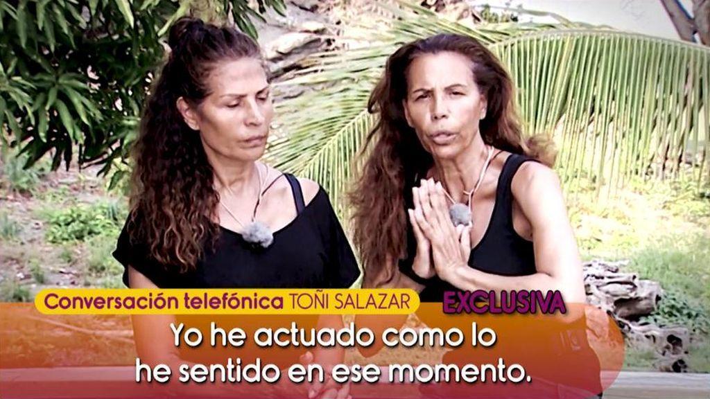 """Toñi Salazar quiere encontrar la paz: """"Yo lo que quiero es recuperarme"""""""