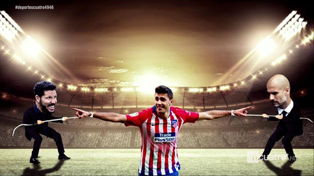 Rodrigo desaparece de la web del Atlético en medio de la pugna entre Simeone y Guardiola