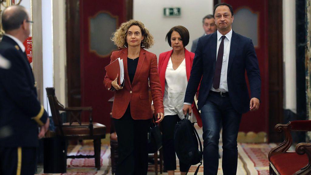 Continúa la partida de pimpón: Batet pide un informe jurídico y retrasa la decisión sobre los diputados presos