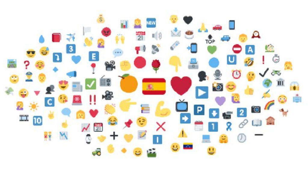 Quién gana la campaña en Twitter: el mapa de los emojis y de qué hablan los políticos