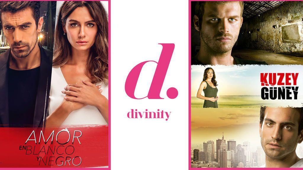 Sigue la pasión turca en Divinity con el doble estreno de 'Kuzey Güney' y 'Amor en blanco y negro'