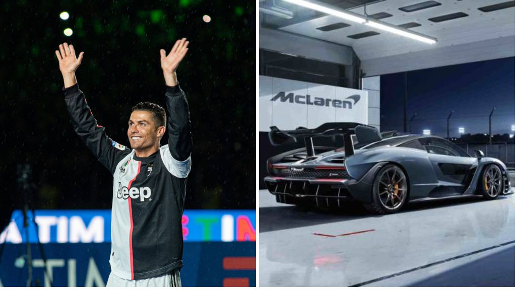 Cristiano Ronaldo presume de su nuevo coche: el Mclaren Senna de casi un millón de euros