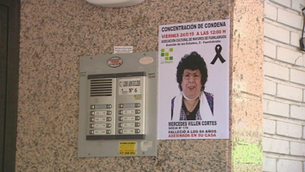 Los vecinos de Fuenlabrada no pueden evitar llorar al recordar a Mercedes