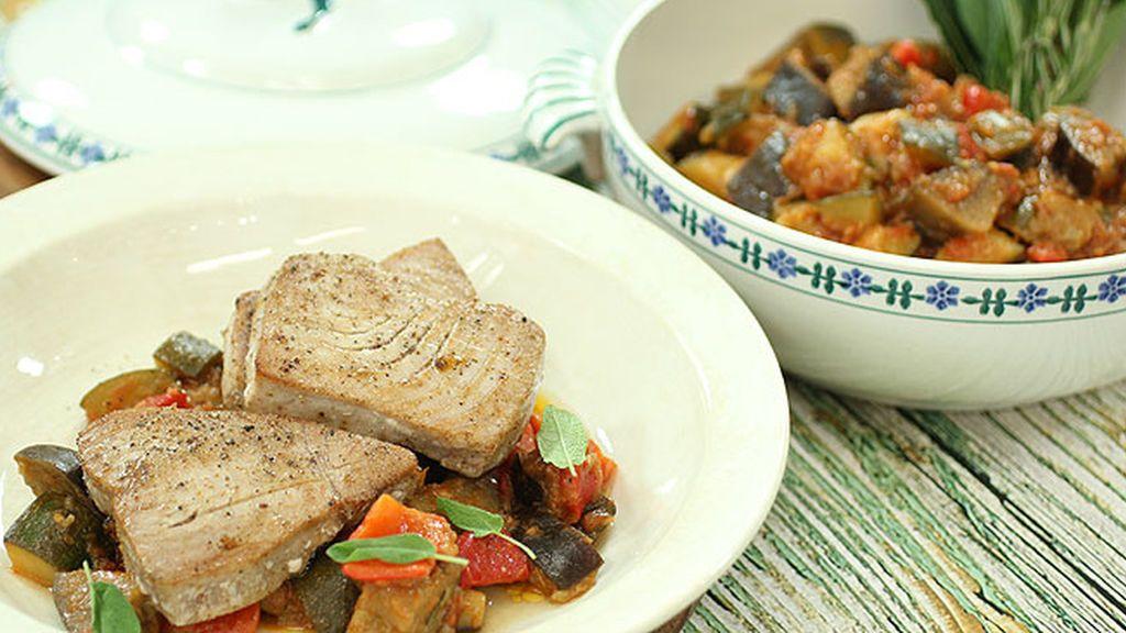 Robin Food prepara 'Atún con pisto'