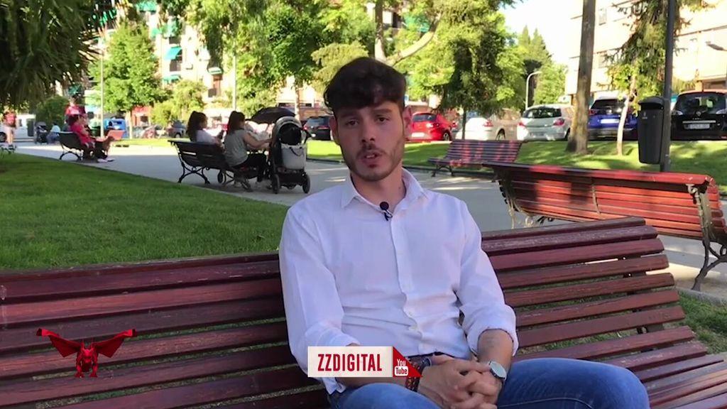 """Los """"gorilas"""" de Abascal empujan a la reportera de 'Todo es mentira'  cuando le pregunta por el pasado nazi del número uno de Pinto por Vox"""