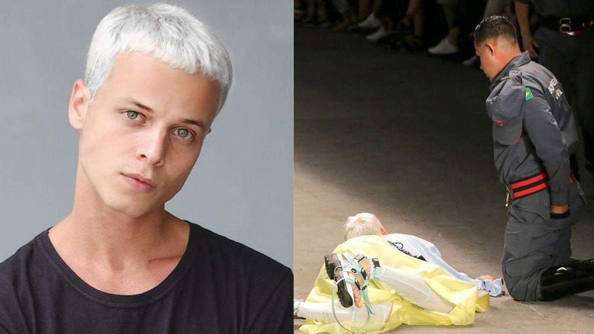 La autopsia de Tales Cotta, modelo que falleció sobre la pasarela en Sao Paulo, apunta una enfermedad cardíaca no diagnosticada