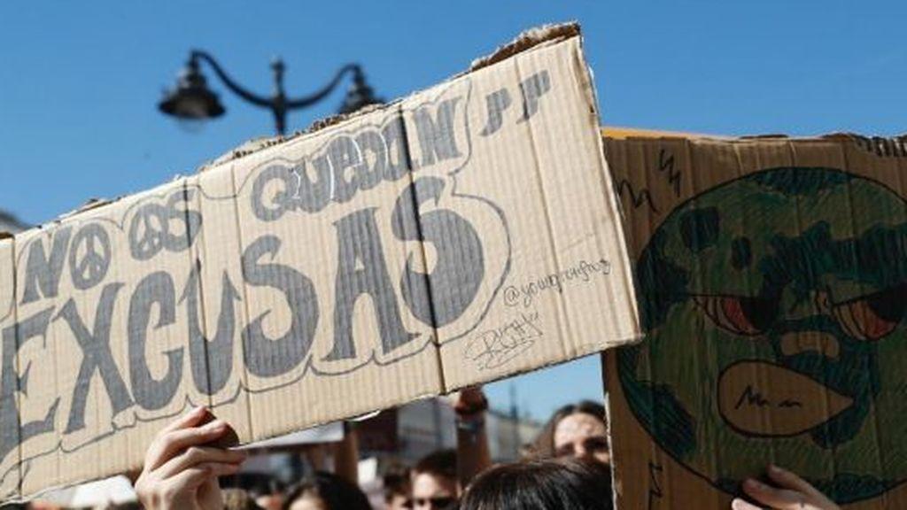 cambio climatico marchas estudiantiles